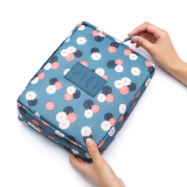 Waterproof Travel Makeup Large Capacity Storage Bag Men and Women Travel Portable Wash Cosmetic Bag Fashion Travel Accessories