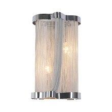 Современные алюминиевые цепи Настенные светильники инженерный дизайн Роскошная цепь кисточка алюминиевая цепь Настенные светильники прикроватные Настенные светильники(BK-59
