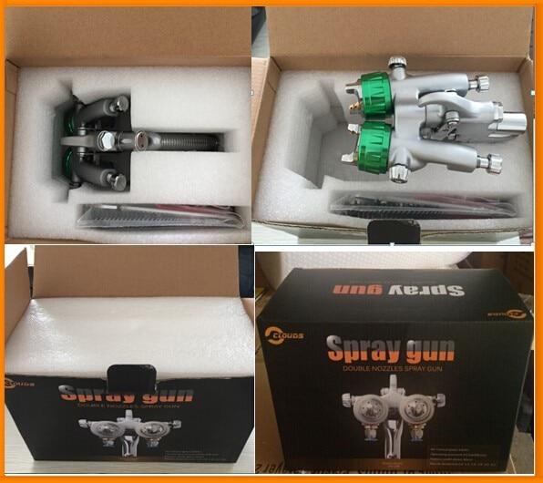 SAT1189 beorė purškimo įranga purškimo pistoleto gravitacinio - Elektriniai įrankiai - Nuotrauka 5