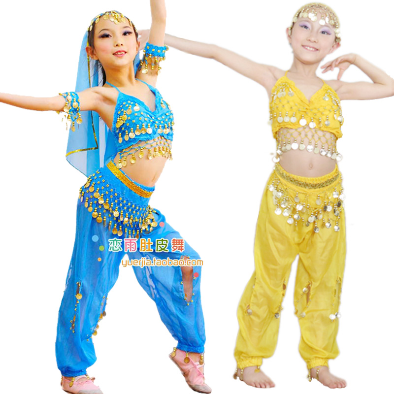 belly dancing costumes for kids Child indian dance clothes ...