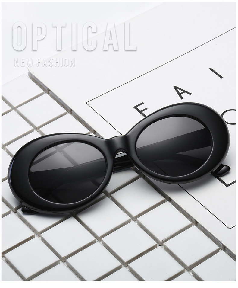 a3f62c2183776 Vintage NIRVANA Kurt Cobain Round Sunglasses For Women Men Brand Designer  Mirrored Glasses Retro Female Male Sun Glasses G075-OK001. picture