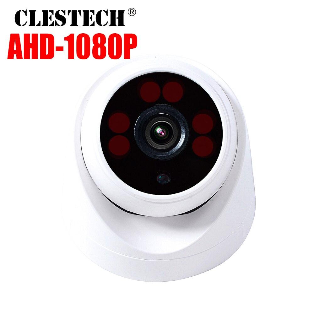 6LED Array AHD Dome CCTV Cámara 720 P/960 P/1080 P 3000TVL FULL infrarojo visión nocturna definición interior seguridad del hogar 2M 1M 7mm Cámara endoscópica Flexible IP67 impermeable inspección boroscopio cámara para Android PC Notebook 6 ledes ajustable
