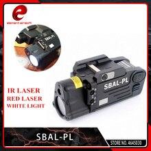 цены Element Tactical Laser Flashlight SBAL-PL Hunting Weapon Light Airsoft Red Laser Pistol Constant & Strobe Light Picatinny Rail