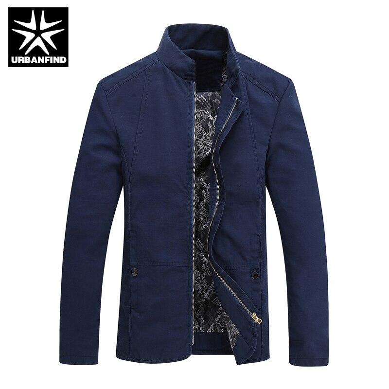 2016 Моды для Мужчин Хлопка Пальто Большой Размер М-4XL Корейский Стиль Человек Slim Fit Куртки Осень и Весна Мужской Верхней Одежды