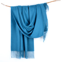 Luxury Solid Water Ripple Cashmere Scarf Women Winter 100% Pashmina Scarf Top Grade Thicken Scarves & Wraps Shawl Cape 200x70cm