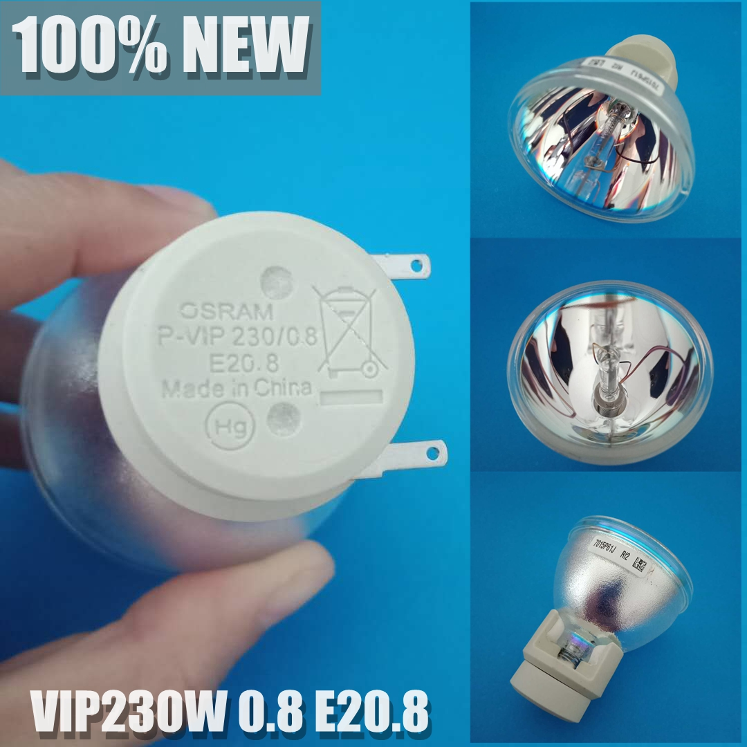 Original bare Lamp Bulb RLC 061 P VIP 230 0 8 E20 8 for VIEWSONIC Pro8200
