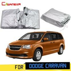 Cawanerl Per Dodge Caravan 1984-2019 Completa Copertura Auto Anti-Uv Sun Pioggia Neve Resistente Ai Graffi Copertura Antivento Con Anti di Blocco antifurto