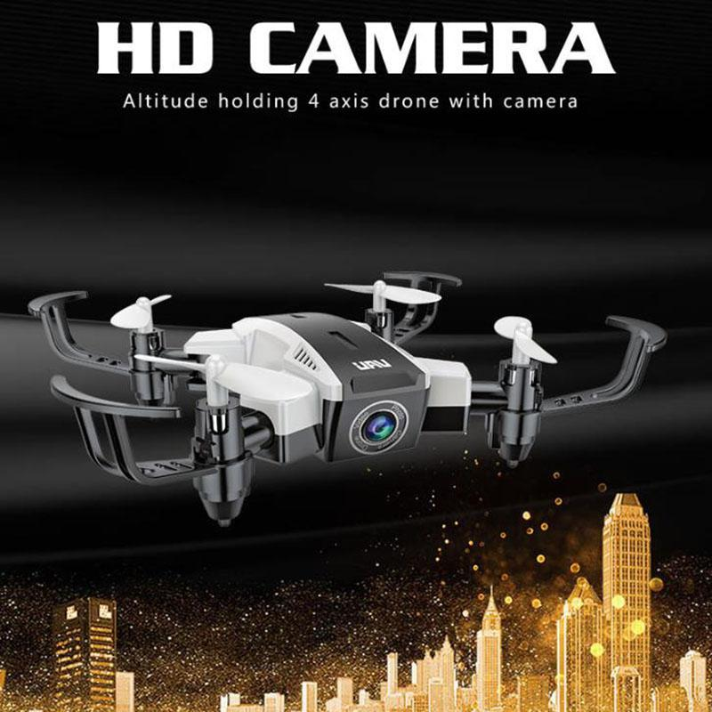 LeadingStar HW Mini Pocket Drones with HD Camera RC Helicopter Foldable WiFi FPV Dron RC Quadcopter Drone VS XS809hw JXD 523W