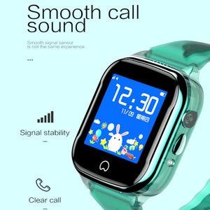 Image 5 - K21 Smart GPS Watch Kids 2019 New IP67 Waterproof SOS Phone Kids Smart Watch Children Clock Fit SIM Card IOS Android Wristwatch