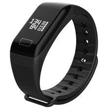 MeiBoAll Tracker Kesihatan F1 Tracker Tidur Smart Gelang Heart Rate Monitor Tracker Smart Band Waterproof Activity untuk iPhone
