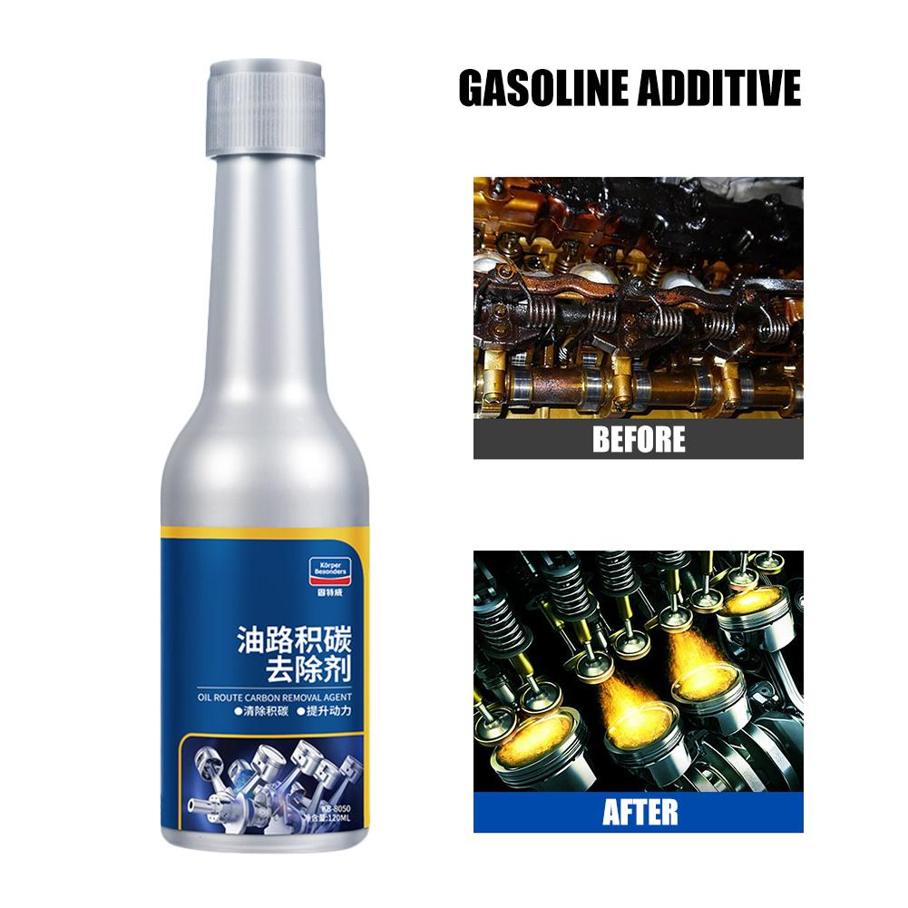 120ml Car Oil Route Carbon Removal Agent Carbon Deposit Cleaning Fuel Saving Gasoline Additive Protect Engine Car Washer
