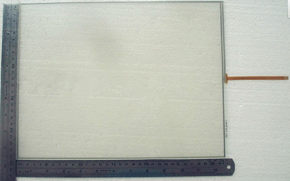 все цены на  15 inch touchscreen for T-010-1201-X131/01 4Wires touch screen panel glass  онлайн