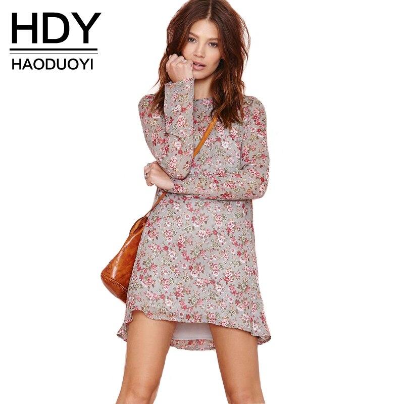 Женское платье-свитер HDY Haoduoyi
