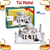 New Year Gift Tai Mahal 3D Puzzles Model Building Indian Historic Site DIY Education Toys Puzzle Game House Decoration