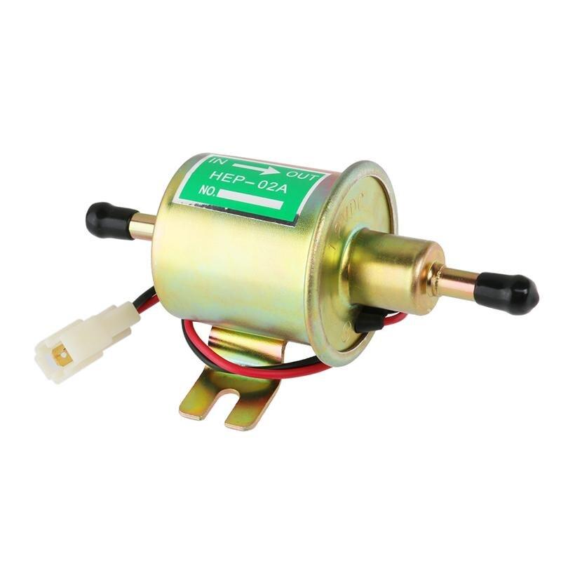 12V Car Heavy Duty Metal Solid Petrol Electric Fuel Pump Auto Replacement Parts