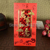 60pcs Lot Chinese Style Personalized Quality Happy New Year Red Envelope Red Pocket For New Year