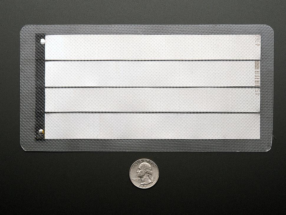 Flexible thin solar panels 1V
