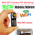 Mini DV Camcorders Cam Md81 WiFi camera mini dv dvr camera wifi camcorder Video Record wifi hd mini camera Wireless IP Camera