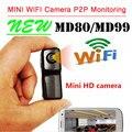 Mini DV Videocámaras Leva Md81 WiFi de la cámara mini dv dvr de la cámara wifi videocámara Grabación de Vídeo hd wifi mini cámara Inalámbrica Cámara IP