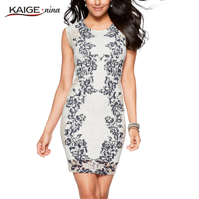 Nina Art Inspired Printed Dress Women Summer Plus Size Bodycon Clothing Dresses 9022