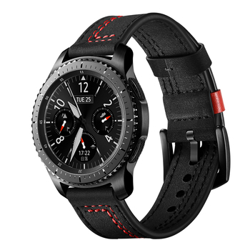 Genuine leather strap For Samsung Galaxy Watch 46mm/Gear S3 frontier/classic bracelet huawei watch GT 2 46mm band 22mm watchband