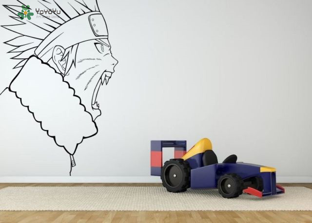 YOYOYU Wall Decal Vinyl Art Home Decor Sticker Removeable Kids Boys Poter Decal Stunt Dirt Racing Biker Mural Decor YO505