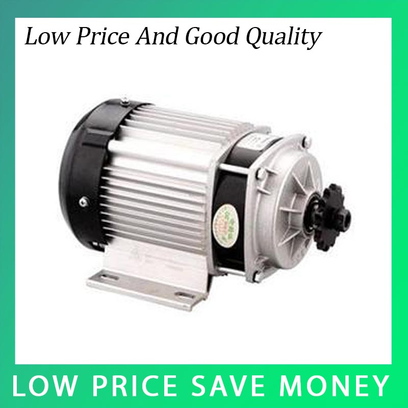 ФОТО Hot Sale Electric Tricycle Motor 48V/36V 350W Small Brushless DC Tricycle Motor