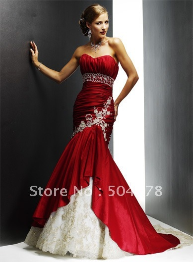 a4cf16f2832 Custom Made V-Neck Lace Long Prom Dresses