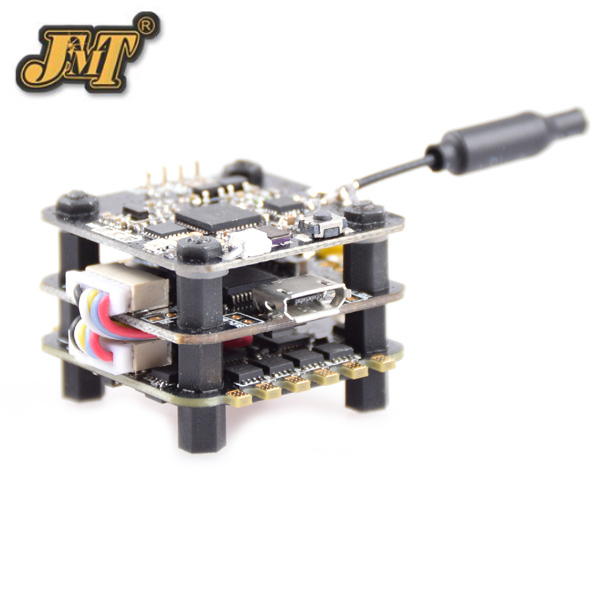 JMT FSD-20 F3V1.0 Mini Tower Racing F3 Flight Controller ESC with 40CH VTX OSD 25mw/200mw Switchable for FPV DIY RC Racer Drone emax f3 magnum mini fpv stack tower system flight controller 4in1 esc all in one for micro fpv racing quadcopter drone diy