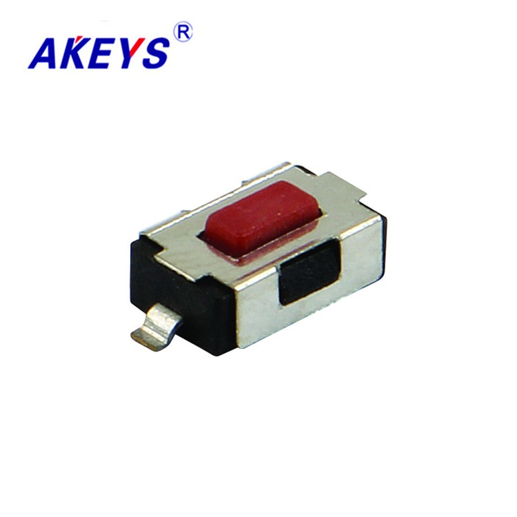 Switches Impartial 100pcs Ts-b007 4*6*2.5 Tact Switch Smd/smt 2 Pin Copper Red Head Square Mini Touch Switch Lighting Accessories