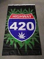 90*150 см Боб Марли Регги Раста хиппи полоса highway 420 сорняки флаг для бара вечерние музыкальные фестиваль тату магазин