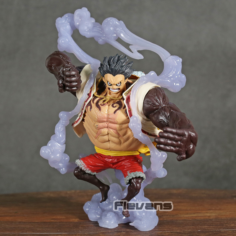 Action & Toy Figures Rapture Anime One Piece Golden Monkey D Luffy Pvc Action Figure Collection Model Toys 2019 New Fashion Style Online