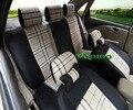 Veeleo + 6 Cores Universal Cobre Tampa de Assento Do Carro Para Ford Focus 2 Fusão Ka Escort-S max Foco 3 Fiesta Ecosport 3D Linho tecido