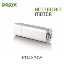 Dooya домашняя Автоматизация электродвигатель для штор KT320E 75 Вт wifi контроль 220 В/50 Гц IOS/Android, работа с RM Pro, без пульта дистанционного управления