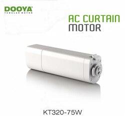Dooya домашняя Автоматизация электродвигатель для штор KT320E 75 Вт WIFI управление 220В/50Гц IOS/Android, работа с RM Pro, без пульта дистанционного управлени...