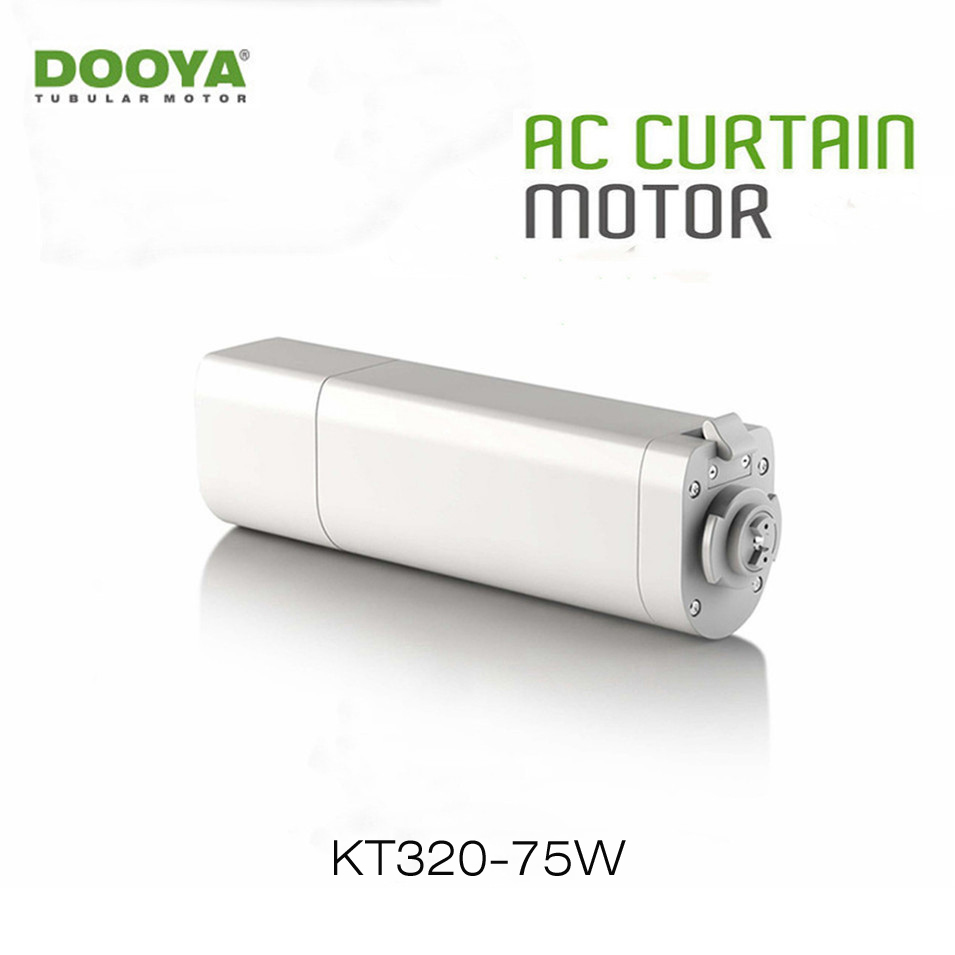 Dooya Home Automation Electric Curtain Motor KT320E 75W WIFI Control 220V/50Hz IOS/Android, Work with RM Pro, no Remote Control
