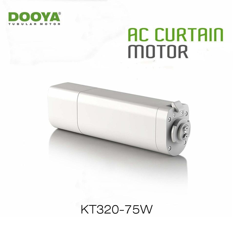 Dooya motor de cortina elétrica kt320e 75 w wifi controle 220 v/50 hz ios/android, trabalho com rm pro, nenhum controle remoto