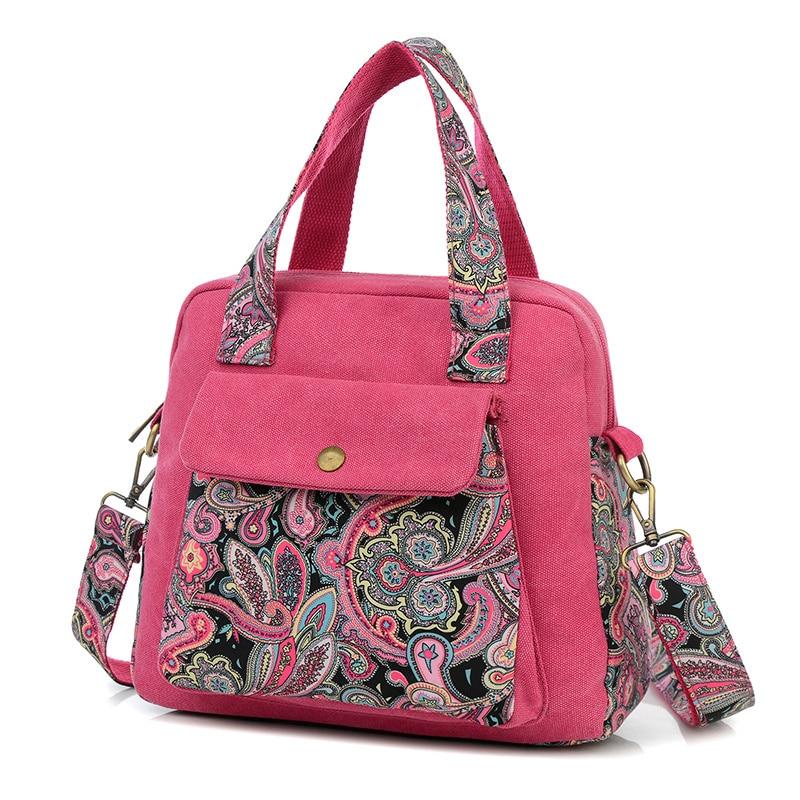 Vintage style handbag lucky