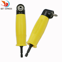Qstexpress 1pc Angle Screwdriver Attachment Of Power Tools 105degree