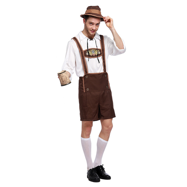410df0d23be US $38.69 |LMFC Halloween Costumes For Men Oktoberfest Traditional German  Bavarian Beer Male Cosplay Festival Party Adult Clothes Plus size-in ...
