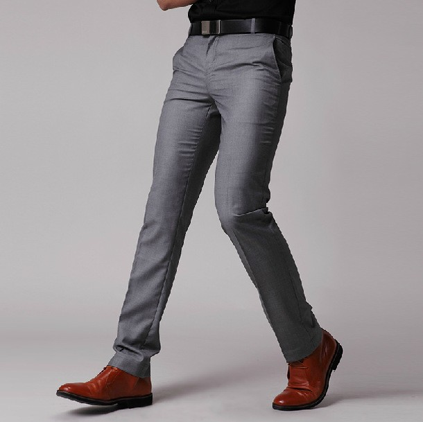 5a5dd3f541d 2018 New Fashion Mens Business Formal Suit Pants Slim Fit Design Men  Trouser Pants Custom made