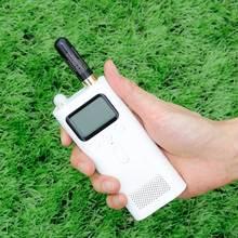 805S Mini DualเสาอากาศSMA หญิง 144/430/1200MHzสำหรับWalkie Talkie Xiaomi Mijia 2 WayวิทยุHamวิทยุ