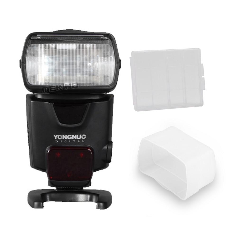 Yongnuo YN500EX Flash Light Speedlite Speedlight 1/8000s GN53 TTL for Canon 700D 650D 6D 7D 600D 400D 50D 5D 60D 50D 40D 30D 2x yongnuo yn600ex rt yn e3 rt master flash speedlite for canon rt radio trigger system st e3 rt 600ex rt 5d3 7d 6d 70d 60d 5d