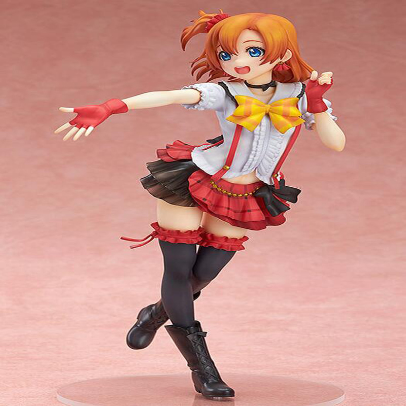 где купить  Japan Love Live! School Idol Project Kousaka Honoka 1/8 Scale PVC anime cartoon doll Action Figure Collectible Model Toys T5738  по лучшей цене
