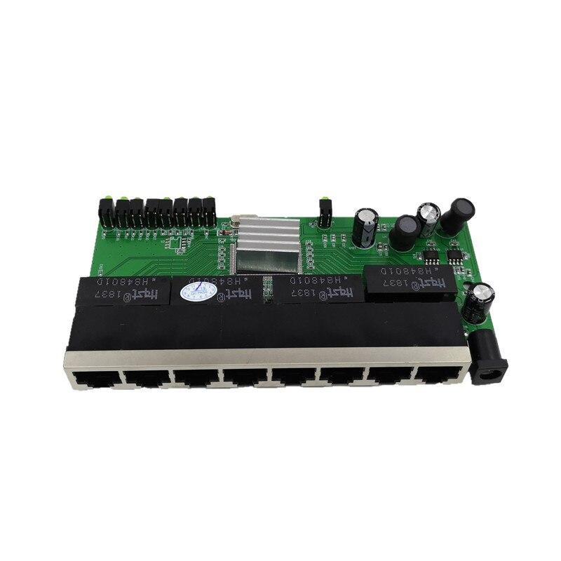 OEM New model 8 Port Gigabit Switch module Desktop RJ45 Ethernet Switch module 10/100/1000mbps Lan Hub switch module 8 portas 2