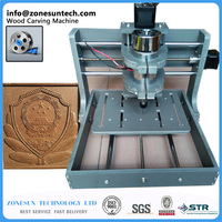 2016 New PCB Milling Machine CNC 2020B DIY Cnc Wood Carving Machine Mini Engraving Machine
