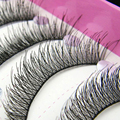 New Arrival 10 Pairs Natural Makeup False Eyelashes Soft Long Eye Lash Extension Tools Brand Makeup Cosmetic Fake Eyelashes