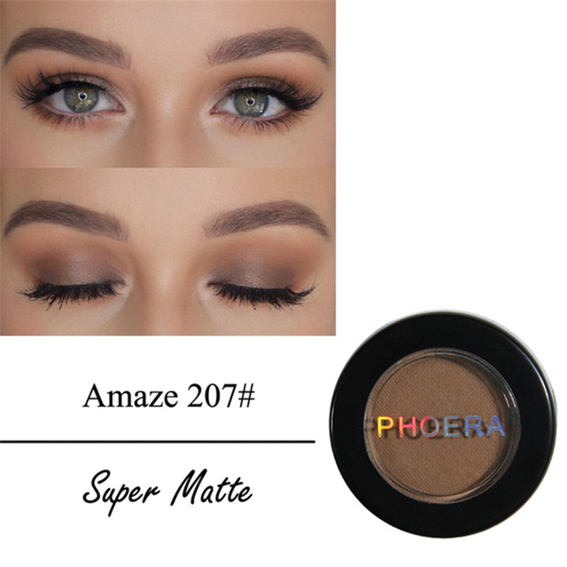 12 Colors Matte Eye Shadow Powder Pigment Nude Long Lasting Bright Eyeshadow Makeup Water-Resistant Black Red Eyeshadow 5
