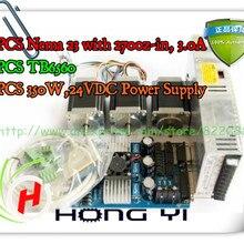 Высокое качество Nema 23 шаговый мотор 270oz-in, 3.0A+ 3 оси TB6560 драйвер платы+ 350 W, 24VDC Питание для станка с ЧПУ комплект