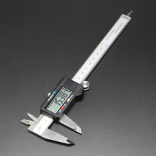 Cheaper Vernier Caliper 150mm 6inch Accuracy 0.01mm Luminous Digital Display Sainless Hardened Industria Professional Senal Output